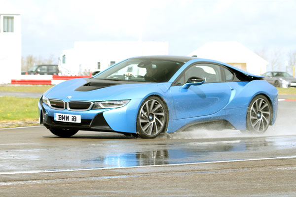 Junior Bmw I8 Driving Experience Gift Voucher Trackdays