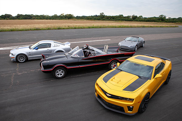 Junior Four Movie Car Thrill with High Speed Passenger Ride Driving Experience 1