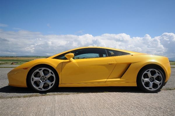 Junior Lamborghini Gallardo Thrill Driving Experience 3