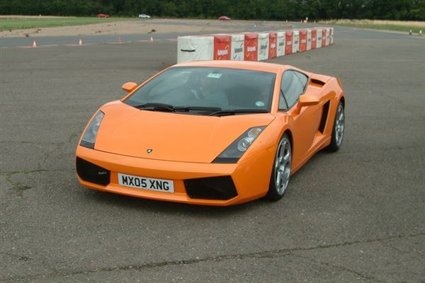 Junior Lamborghini Gallardo Driving Experience 3