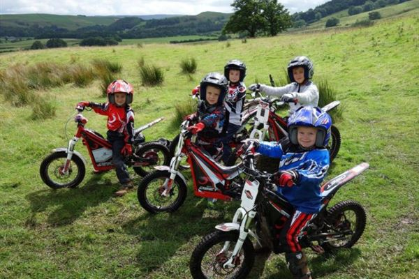 Junior Motorcycle Trials Course 1