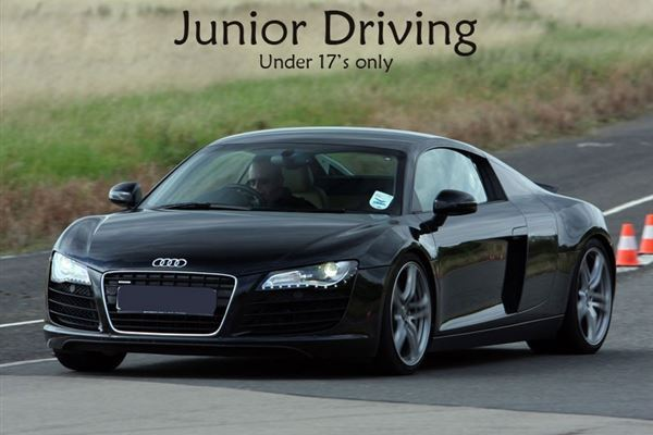 Junior Supercar Thrill Driving Experience 3