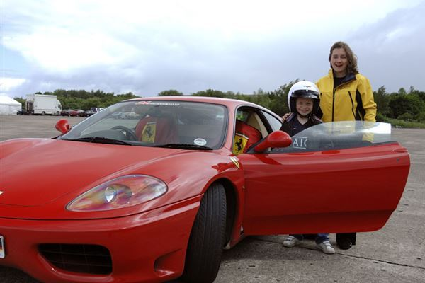 Junior Supercar Driving Experience 1