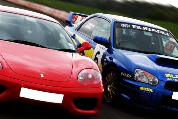 Junior Supercar Rally Driving Experience 1