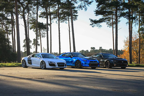 Junior Triple Supercar Blast with High Speed Ride Driving Experience 1