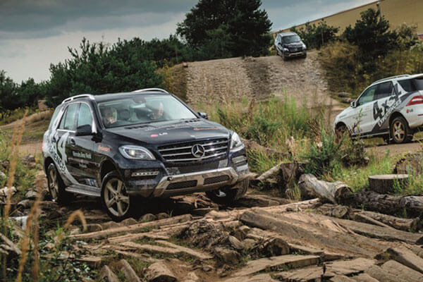 Mercedes-Benz 1 Hour 4x4 Driving Experience Driving Experience 2