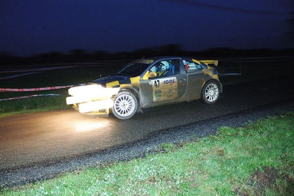 Night Rally Driving Experience 1