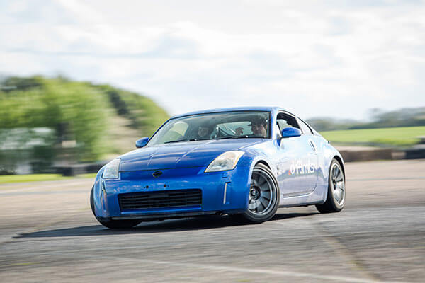 Nissan 350Z Silver Drifting Experience Driving Experience 1