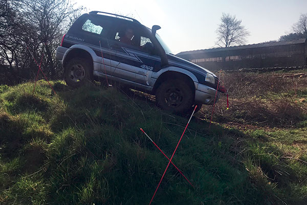 Silverstone 4x4 Off Road Challenge Driving Experience 3