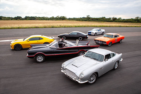 Six Movie Car Blast with High Speed Passenger Ride Driving Experience 1