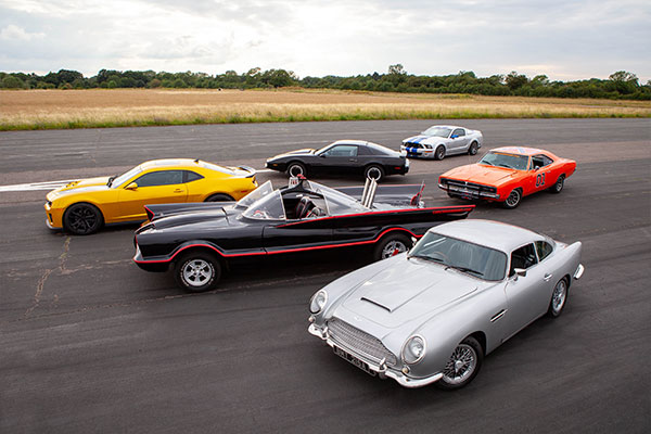 Six Movie Car Thrill with High Speed Passenger Ride Driving Experience 1