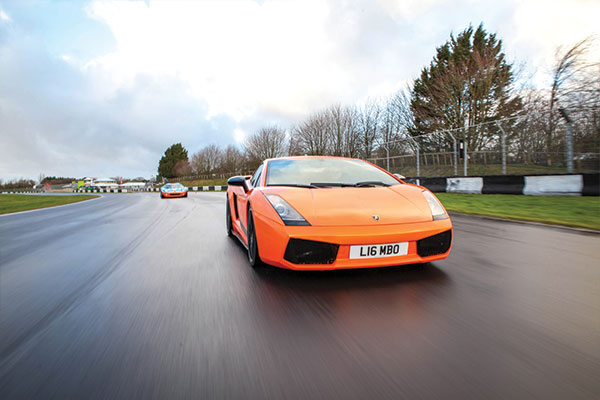 Six Supercar Blast with High Speed Passenger Ride Driving Experience 2