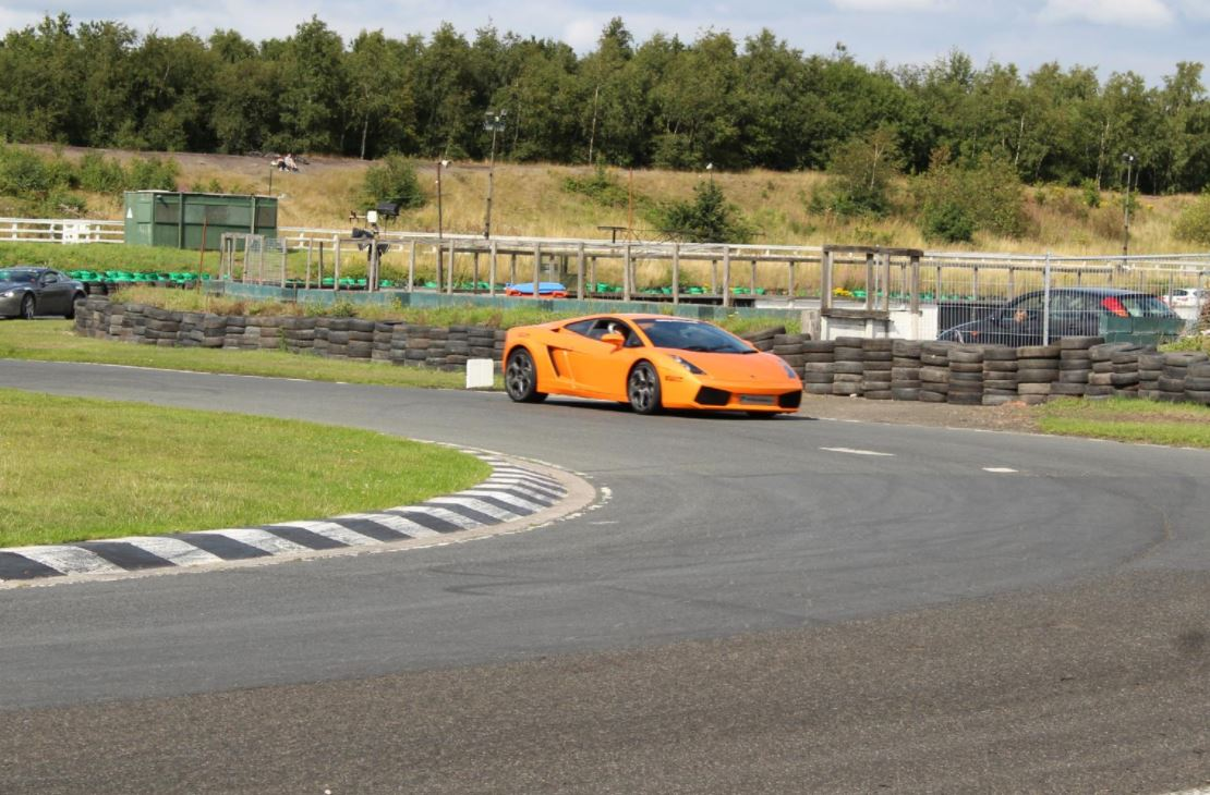 Double Supercar Blast Driving Experience 3