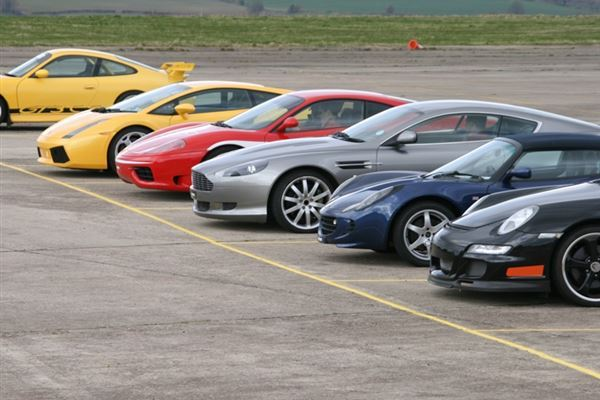 Supercar Double With HSPR Driving Experience 1
