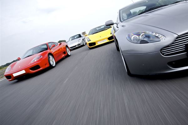 Supercar Four Driving Experience 1