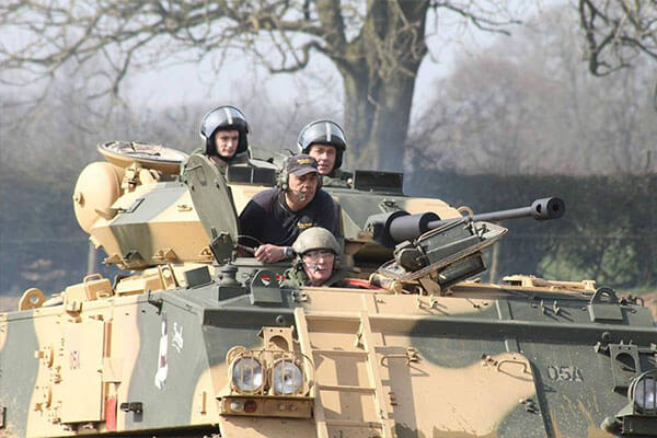 Tank Paintball Battle Driving Experience 2