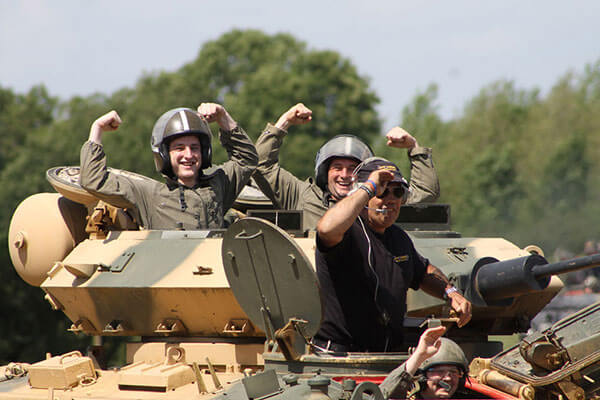 Tank Paintball Battle Driving Experience 1