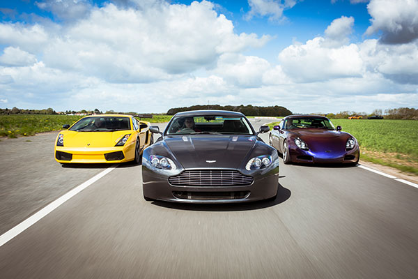 Treble Supercar Blast Driving Experience 1