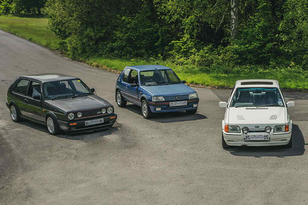 Triple 80's Hot Hatch Driving Blast Driving Experience 1