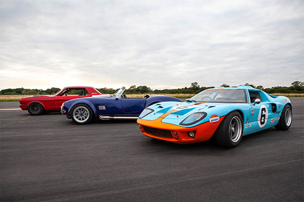 Triple American Muscle Thrill with High Speed Passenger Ride Driving Experience 1