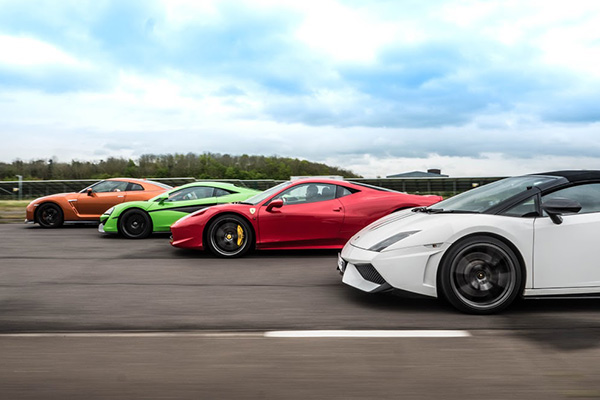 Triple Platinum Supercar Thrill Driving Experience 2