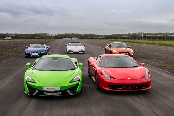 Triple Platinum Supercar Thrill Driving Experience 1