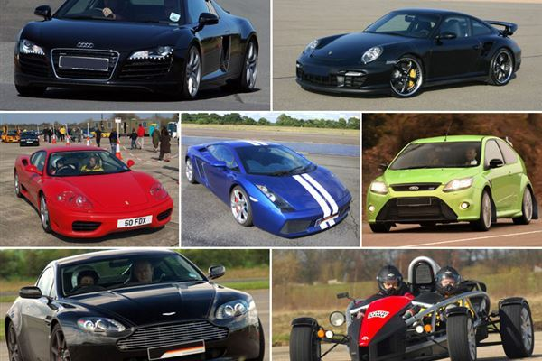 Supercar Thrill Driving Experience 1